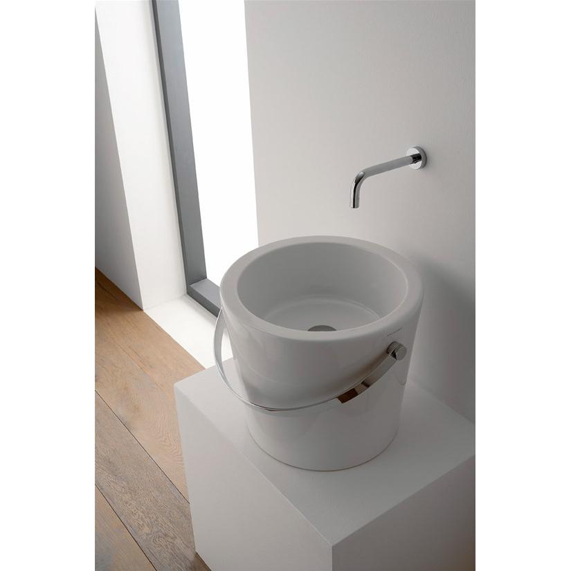 Countertop washbasin cm 30 Bucket