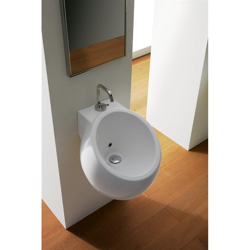 Wall-hung washbasin cm 45 Planet