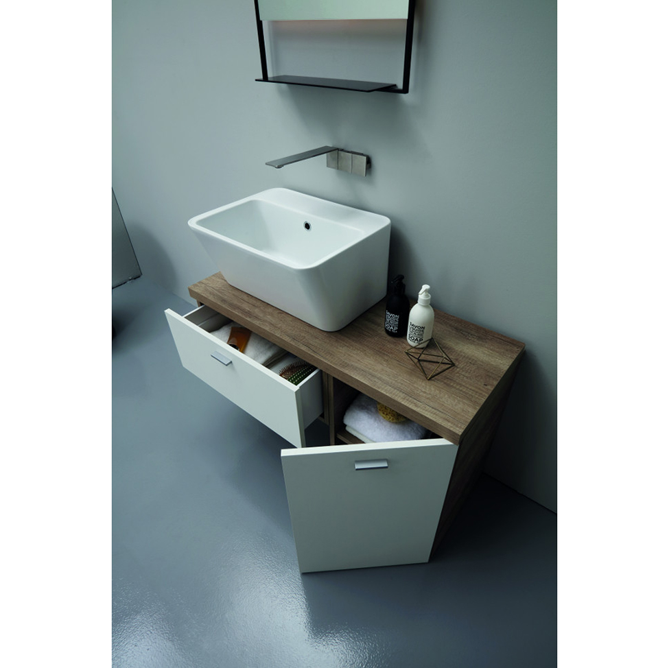 Countertop/wall-hung washbasin cm 70x40xH25 Wynn