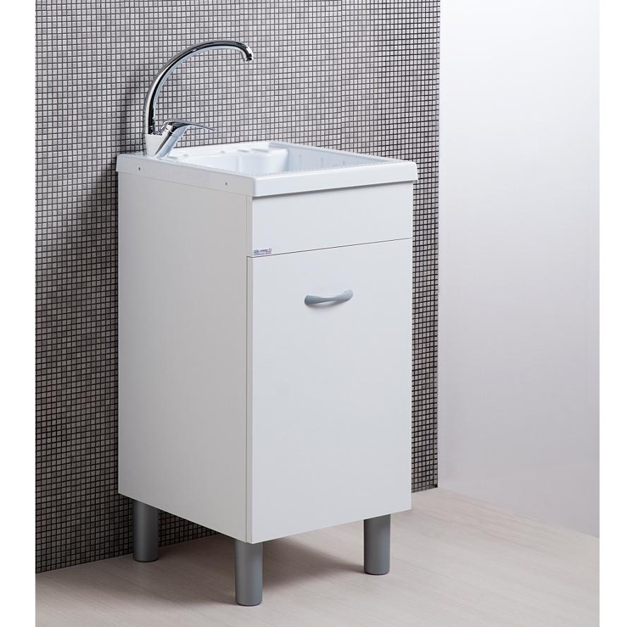 Wash-tub with cabinet cm 45x50 Lemon