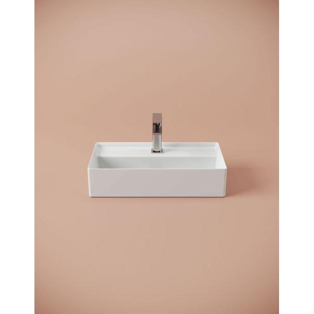 Countertop/wall-hung washbasin cm 50x27 Scalino