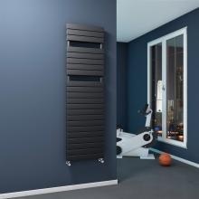 Single radiator towel rail warmer L500 mm Plain