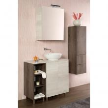 Floor bathroom composition cm 145 Unika