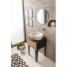 Round countertop washbasin Mizu