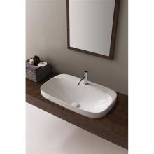 Drop-in washbasin Moon