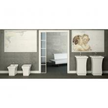 Back to Wall Wc with Vertical Drain Neò