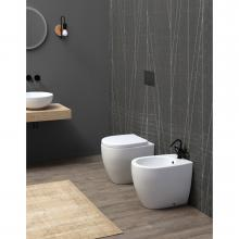Back to wall sanitary ware Open