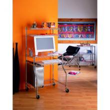 Chromed Pc Desk