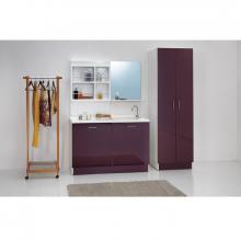 Washing machine cabinet with left tub 130x65xH89 Active Wash Static
