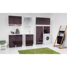 Indoor washtub 60x50xH86 with washing axis and two doors Swash