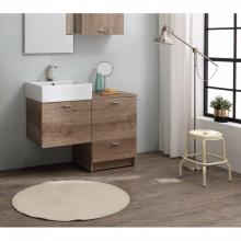 Floor cabinet with two drawers cm 45x50xH73 Volant
