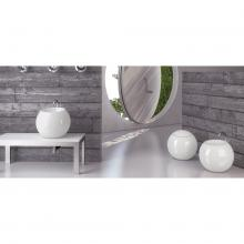 Back To wall Wc with horizontal white drain Sfera