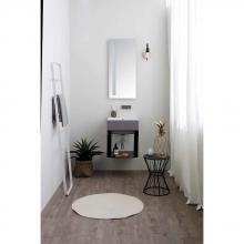 Metal suspended washbasin structure cm 45x50xH71 Volant