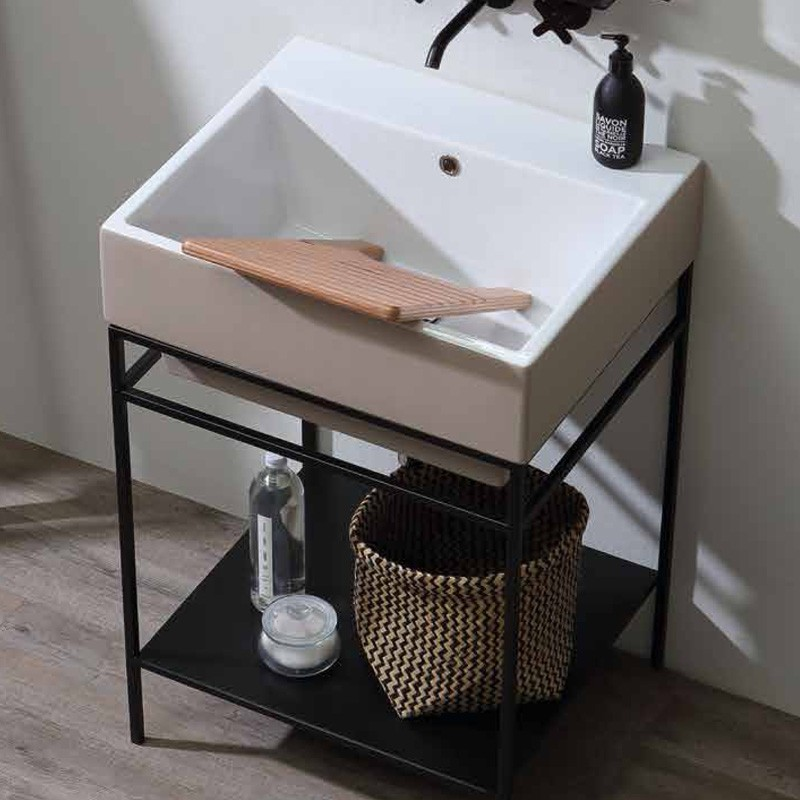 Ceramic washbasin 45x50 Volant