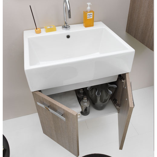 Ceramic washbasin 60x50 Volant